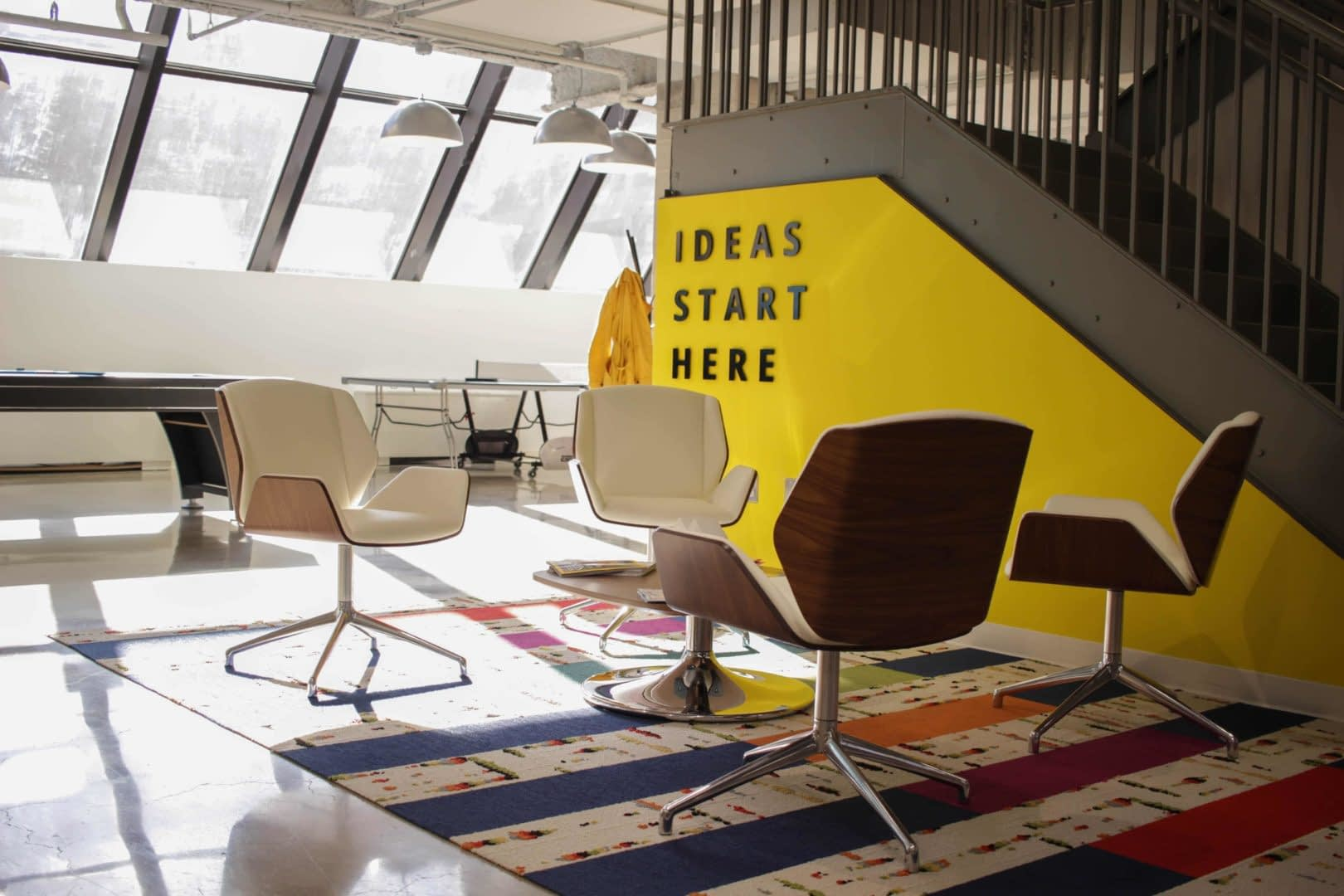 trendy office with ideas start here sentence
